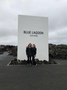 Michelle & Kelli Blue Lagoon Iceland