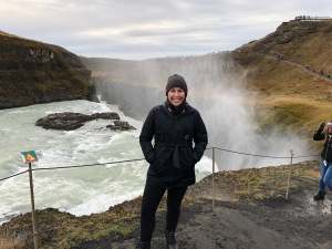 Kelli Gullfoss Waterfall