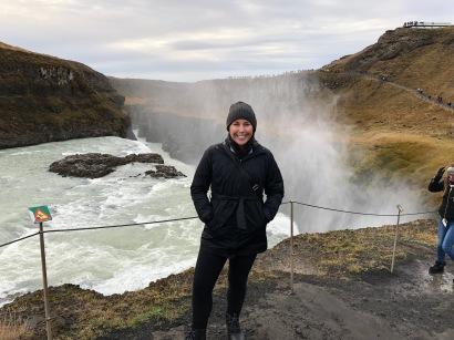 Kelli Gullfoss Waterfall