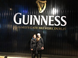 Michelle & I in Ireland