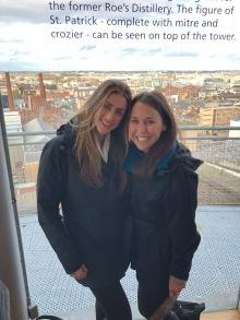 Michelle & Kelli Guinness Tour Dublin, Ireland