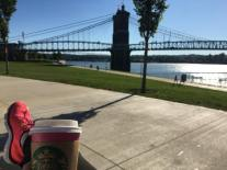 Walks along the Ohio River
