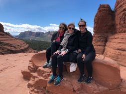 Lauren, Leslie and Kelli in Sedona